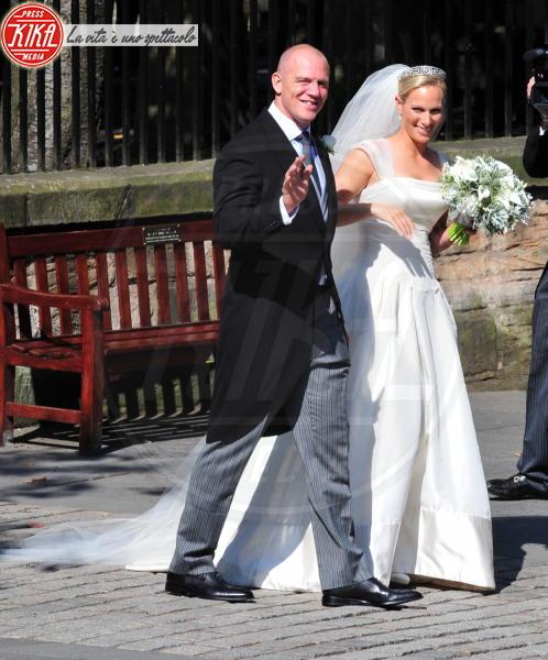 Mike Tindall, Zara Phillips - 30-07-2011 - Da Kate a Lady D, gli abiti da sposa Windsor più belli