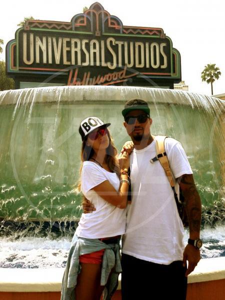 Kevin-Prince Boateng, Melissa Satta - Los Angeles - 08-07-2013 - Dillo con un tweet: Pellegrini-Magnini, la storia infinita