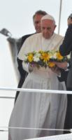 Papa Francesco - Lampedusa - 08-07-2013 - Lo storico viaggio di Papa Francesco a Lampedusa