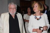 Ombretta Colli, Paolo Villaggio - Marina di Pietrasanta - 08-07-2013 - Paolo Villaggio è morto. Aveva 84 anni