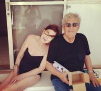 Genitori Elisabetta Canalis - Milano - 09-07-2013 - Dillo con un tweet: Elisabetta Canalis tra lato b e genitori