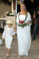 Lupo Ward, Giada Desideri - Fregene - 10-07-2013 -  Luca Ward e Giada Desideri si sono sposati a Fregene