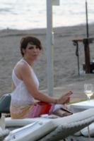 Luna Berlusconi - Fregene - 10-07-2013 -  Luca Ward e Giada Desideri si sono sposati a Fregene