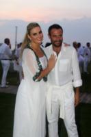 Giada Desideri, Giorgio Borghetti - Fregene - 10-07-2013 -  Luca Ward e Giada Desideri si sono sposati a Fregene