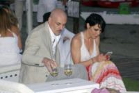 Edoardo Sylos Labini, Luna Berlusconi - Fregene - 10-07-2013 -  Luca Ward e Giada Desideri si sono sposati a Fregene