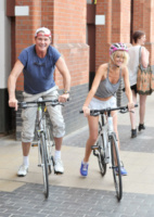 Hayley Roberts, David Hasselhoff - Londra - 10-07-2013 - David Hasselhoff sposo in Italia con la sua Hayley