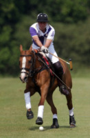Principe William - Gloucestershire - 14-07-2013 - Il principe William aspetta la nascita del bebè giocando a polo