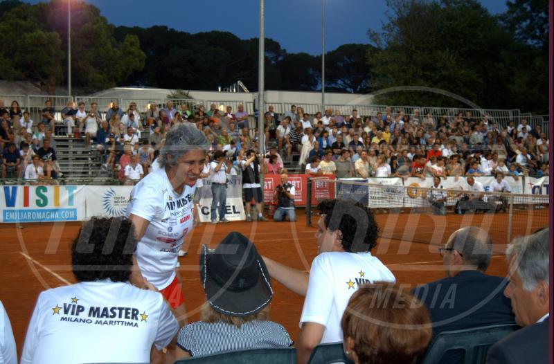 Paola Concia - Milano Marittima - 16-07-2013 - Gli Us Open risvegliano la passione per il tennis delle star