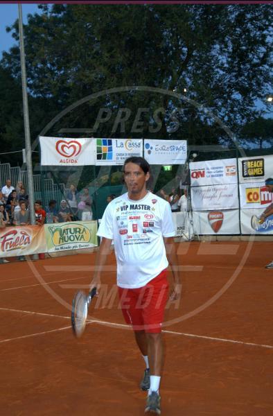 Simone Inzaghi - Milano Marittima - 16-07-2013 - Gli Us Open risvegliano la passione per il tennis delle star