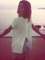 Elisabetta Canalis - Milano - 16-07-2013 - Dillo con un tweet: Eli, allora è un vizio