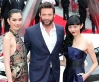 Rila Fukushima, Tao Okamoto, Hugh Jackman - Londra - 16-07-2013 - Hugh Jackman: un Wolverine da 6000 calorie al giorno