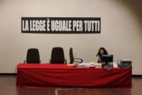 Francesco Schettino - Grosseto - 17-07-2013 - Costa Concordia: Schettino e Domnica Cemortan in aula
