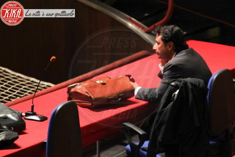 Francesco Schettino - Processo Concordia - Grosseto - 17-07-2013 - Costa Concordia, cinque anni fa la tragedia all'Isola del Giglio
