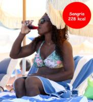 Serena Williams - Miami - 15-06-2013 - SOS Cocktail: ma sai quante calorie stai bevendo?