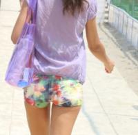 Laura Barriales - Milano Marittima - 13-07-2013 - Underbutt: la nuova frontiera del lato b