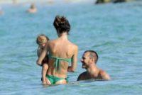 Nina Cattelan, Ludovica Sauer, Alessandro Cattelan - Formentera - 17-07-2012 - Alessandro Cattelan: un papà con l'X Factor
