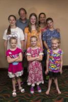 famiglia Blasdell - Triplets Hits Charm City - Baltimora - 18-07-2013 - Nel Maryland la (tripla) festa dei gemelli