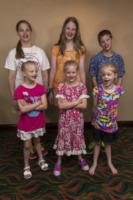 famiglia Blasdell - Baltimora - 18-07-2013 - Nel Maryland la (tripla) festa dei gemelli