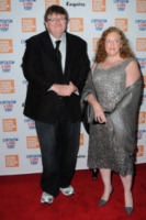 Kathleen Glynn, Michael Moore - New York - 21-09-2009 - Michael Moore  e Kathleen Glynn si sono detti addio