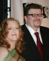 Kathleen Glynn, Michael Moore - Los Angeles - 10-01-2005 - Michael Moore  e Kathleen Glynn si sono detti addio