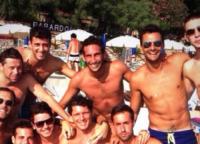 Aldo Montano - Milano - 19-07-2013 - Dillo con un tweet: Valentino Rossi pensa al cavatappi
