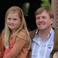 Amalia d'Olanda, Guglielmo Alessandro Orange-Nassau - Wassenaar - 19-07-2013 - Saranno loro a sedersi, un giorno, sui troni d'Europa