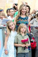 Johnny Christopher King Backus, figli, Mira Sorvino - Salerno - 19-07-2013 - Giffoni Film Festival: per i Sorvino un blu carpet di famiglia
