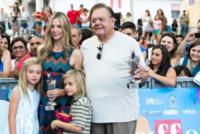 Johnny Christopher King Backus, figli, Paul Sorvino, Mira Sorvino - Salerno - 19-07-2013 - Giffoni Film Festival: per i Sorvino un blu carpet di famiglia