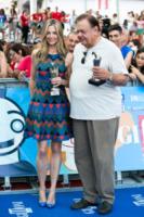 Paul Sorvino, Mira Sorvino - Salerno - 19-07-2013 - Giffoni Film Festival: per i Sorvino un blu carpet di famiglia