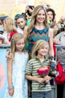 Johnny Christopher King Backus, Holden Paul Terry Backus, figli, Mira Sorvino - Salerno - 19-07-2013 - Giffoni Film Festival: per i Sorvino un blu carpet di famiglia