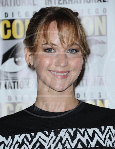 Jennifer Lawrence - San Diego - 20-07-2013 - Autunno 2013, il ritorno della frangia