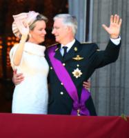 Mathilde  del Belgio, Filippo del Belgio - Brussels - 21-07-2013 - Philippe del Belgio è diventato re. Alberto II ha abdicato