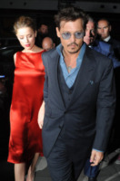 Amber Heard, Johnny Depp - Londra - 22-07-2013 - Johnny Depp e Kate Moss di nuovo insieme per Paul McCartney