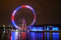London Eye - Londra - 23-07-2013 - Un penny d'argento per ogni piccolo inglese nato il 22/7/2013