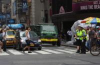 Fuoristrada Tartarughe Ninja - New York - 22-07-2013 - Megan Fox: reporter delle Tartarughe Ninja