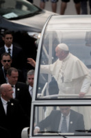 Papa Francesco - Rio de Janeiro - 22-07-2013 - Papa Francesco arriva in Brasile per i giovani