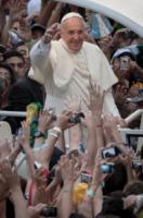 Papa Francesco - Rio de Janeiro - 22-07-2013 - Giovanni Paolo II e Giovanni XXIII santi il 27 aprile