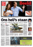 Beeld - Londra - 24-07-2013 - La stampa mondiale rende omaggio al Piccolo Principe