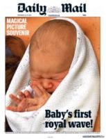 Daily Mail - Londra - 24-07-2013 - La stampa mondiale rende omaggio al Piccolo Principe