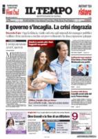Il Tempo - Londra - 24-07-2013 - La stampa mondiale rende omaggio al Piccolo Principe