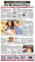 Washington Times - Londra - 24-07-2013 - La stampa mondiale rende omaggio al Piccolo Principe