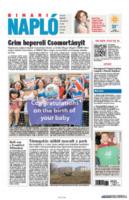 Binari Naplo - Londra - 24-07-2013 - La stampa mondiale rende omaggio al Piccolo Principe