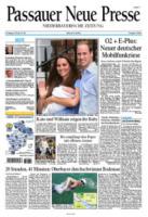 Passauer Neue Press - Londra - 24-07-2013 - La stampa mondiale rende omaggio al Piccolo Principe