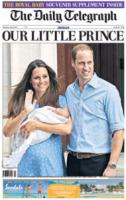 The Daily Telegraph - Londra - 24-07-2013 - La stampa mondiale rende omaggio al Piccolo Principe
