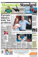 Manawatu Standard - Londra - 24-07-2013 - La stampa mondiale rende omaggio al Piccolo Principe