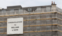 Congratulazioni Impalcatura - Londra - 23-07-2013 - Royal Cambridge, le congratulazioni non sono più solo su carta
