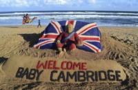 Congratulazioni Sabbia - Londra - 24-07-2013 - Royal Cambridge, le congratulazioni non sono più solo su carta