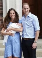 Principe George, Principe William, Kate Middleton - Londra - 23-07-2013 - Principino George: le sette foto che lo hanno resto una star