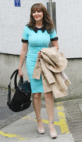 Carol Vorderman - Londra - 18-06-2013 - Back to school: tutte studentesse preppy con il colletto!