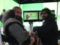 Set Hobbit - Nuova Zelanda - 26-07-2013 - Peter Jackson celebra l'ultimo giorno di riprese dello Hobbit